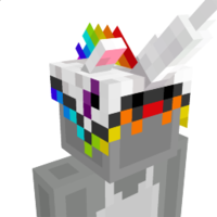 Unicorn Horn Hat on the Minecraft Marketplace by Glowfischdesigns
