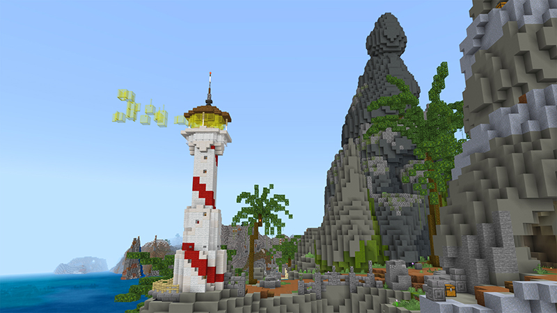 Pirate Island on the Minecraft Marketplace by Diluvian