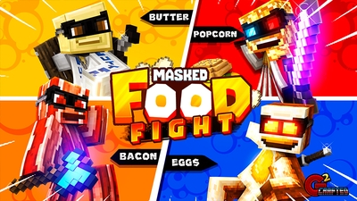Masked Food Fight on the Minecraft Marketplace by G2Crafted