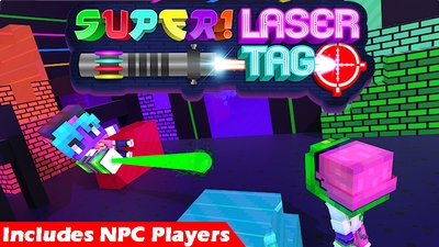 Super Laser Tag on the Minecraft Marketplace by Pixels & Blocks