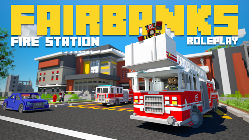 Fairbanks Fire Station on the Minecraft Marketplace by Aurrora
