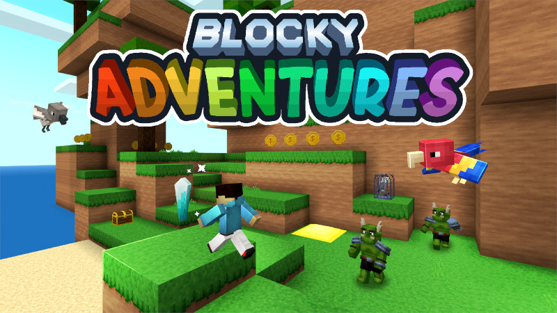 Blocky Adventures on the Minecraft Marketplace by Tomaxed