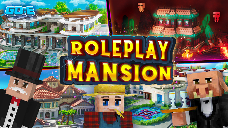 ROLEPLAY MANSION on the Minecraft Marketplace by GoE-Craft