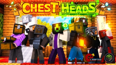 Chest Heads on the Minecraft Marketplace by G2Crafted