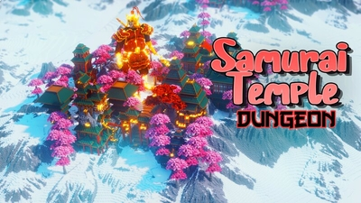 Samurai Temple Dungeon on the Minecraft Marketplace by IriumBT