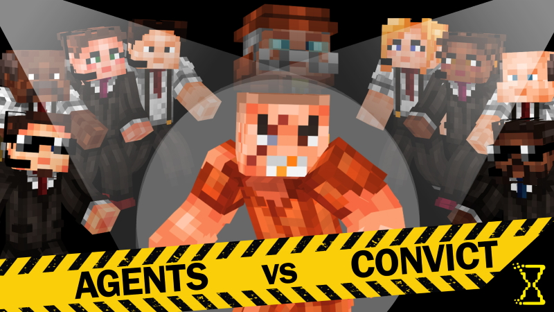 Agents vs Convict on the Minecraft Marketplace by Hourglass Studios