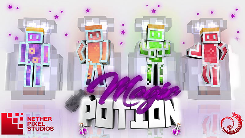 Magic Potions on the Minecraft Marketplace by Netherpixel
