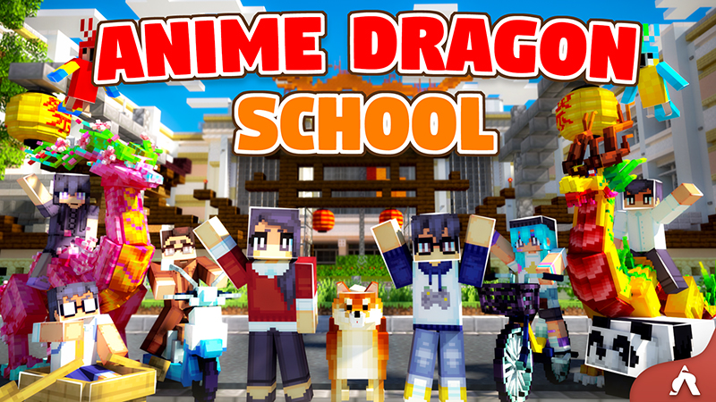 Anime Dragon School on the Minecraft Marketplace by Atheris Games