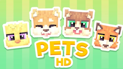 Pets HD Skin Pack on the Minecraft Marketplace by Ninja Squirrel Gaming