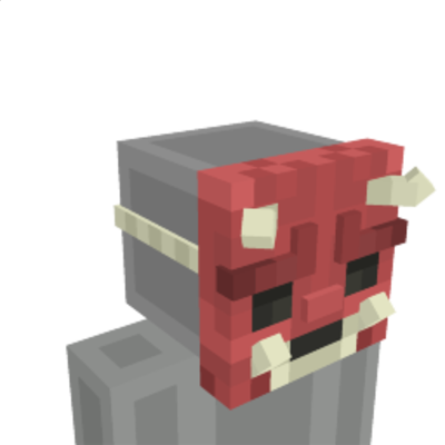 Demon Mask on the Minecraft Marketplace by Cleverlike