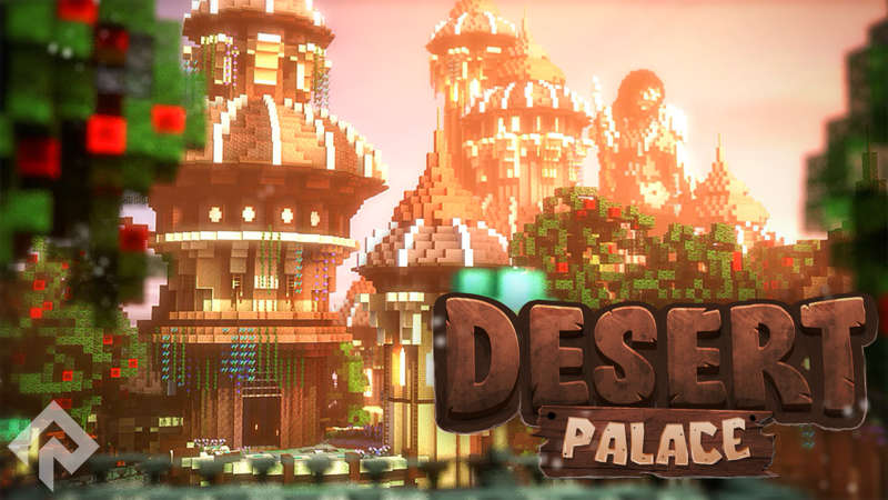 Desert Palace on the Minecraft Marketplace by RareLoot