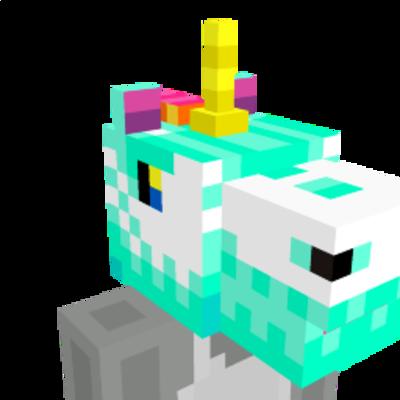 Unicorn Head on the Minecraft Marketplace by Mazario Studios