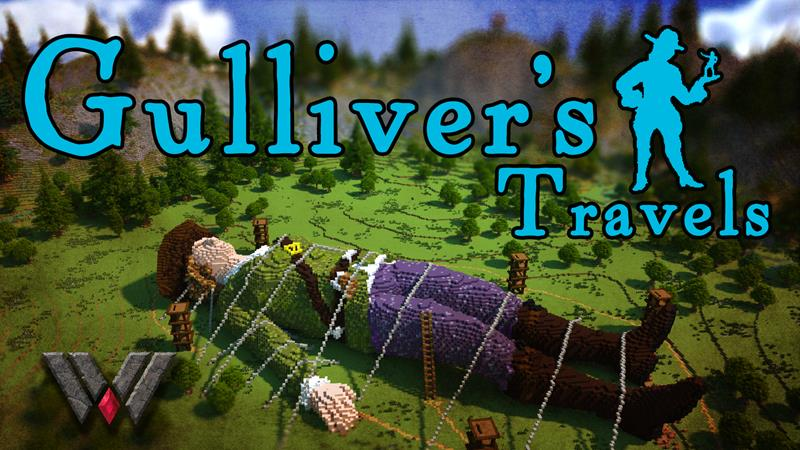 Gullivers Travels Part One on the Minecraft Marketplace by Wandering Wizards