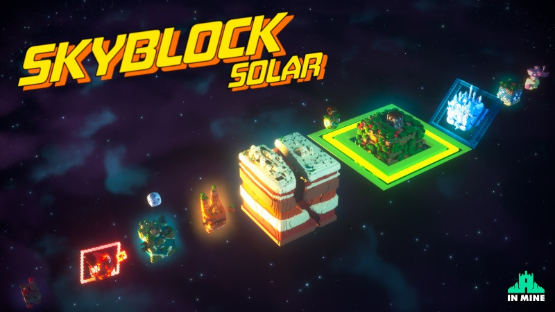 Skyblock Solar on the Minecraft Marketplace by In Mine