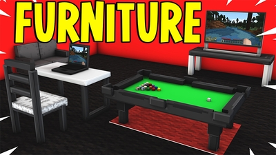 Furniture World on the Minecraft Marketplace by Pickaxe Studios