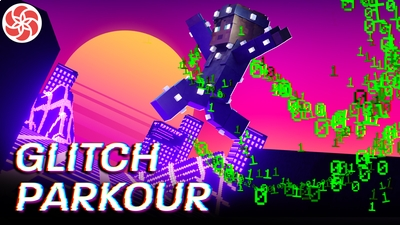 Glitch Parkour on the Minecraft Marketplace by Everbloom Games
