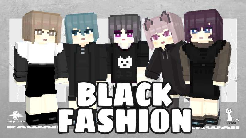 Black Fashion HD on the Minecraft Marketplace by Impress