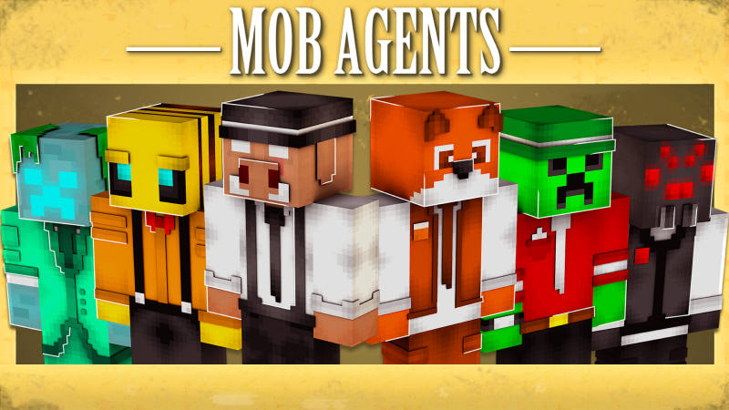 Mob Agent Squad on the Minecraft Marketplace by BLOCKLAB Studios