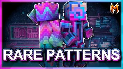 Rare Patterns on the Minecraft Marketplace by Metallurgy Blockworks