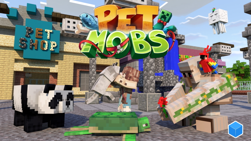 Pet Mobs on the Minecraft Marketplace by CubeCraft Games