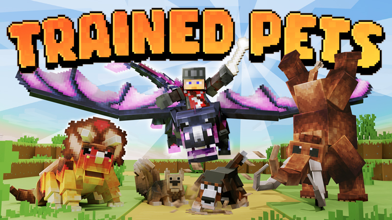 Trained Pets on the Minecraft Marketplace by Panascais
