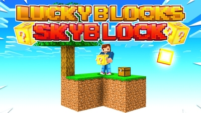 Lucky Blocks Skyblock on the Minecraft Marketplace by Fall Studios
