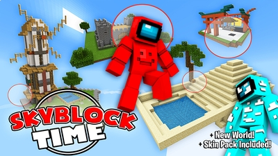 SkyBlock Time on the Minecraft Marketplace by The Lucky Petals
