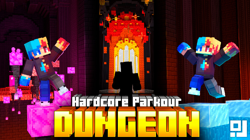 Hardcore Parkour Dungeon on the Minecraft Marketplace by inPixel
