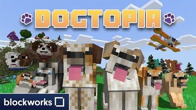 Dogtopia on the Minecraft Marketplace by Blockworks