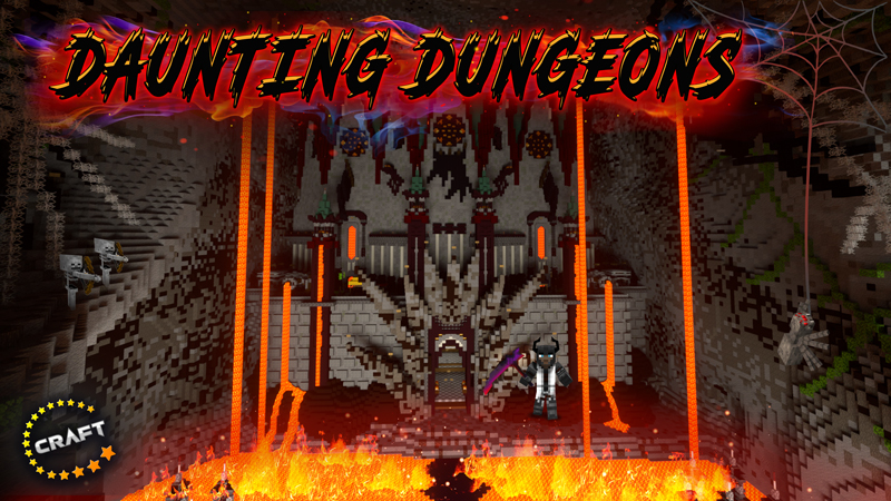 Daunting Dungeons on the Minecraft Marketplace by The Craft Stars