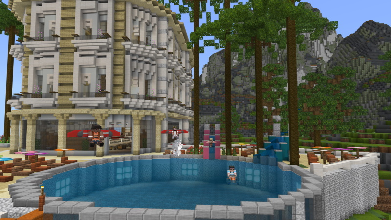 Ultimate Resort  on the Minecraft Marketplace by Sapphire Studios