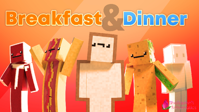 Breakfast  Dinner on the Minecraft Marketplace by Shaliquinn's Schematics