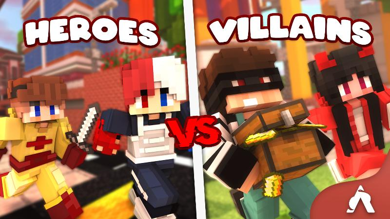 Heroes vs Villains on the Minecraft Marketplace by Atheris Games