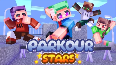 Parkour Stars on the Minecraft Marketplace by Dark Lab Creations
