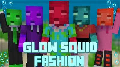 Glow Squid Fashion on the Minecraft Marketplace by Pixelationz Studios