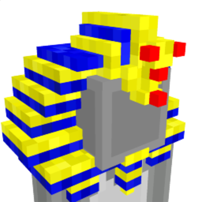 Tutankhamun Headdress on the Minecraft Marketplace by Dragnoz