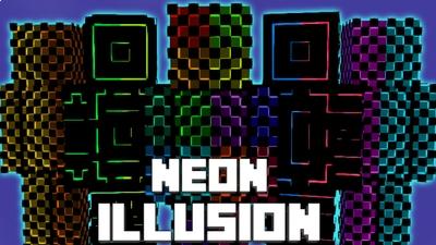 Neon Illusion on the Minecraft Marketplace by Pixelationz Studios