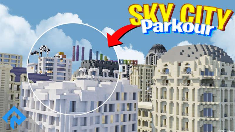 Skycity  Parkour on the Minecraft Marketplace by RareLoot