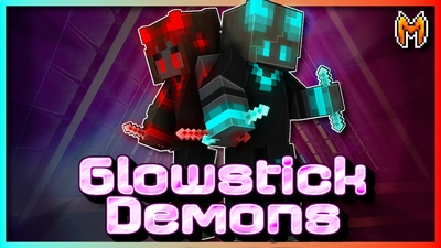 Glowstick Demons on the Minecraft Marketplace by Metallurgy Blockworks