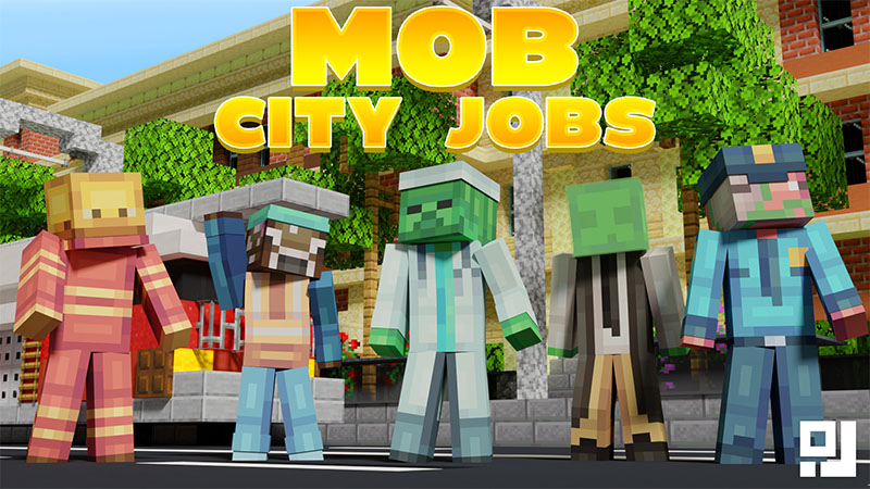 Mob City Jobs on the Minecraft Marketplace by inPixel