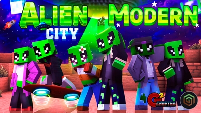 Alien Modern City on the Minecraft Marketplace by G2Crafted