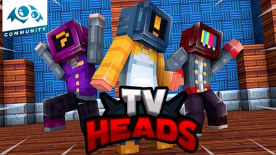TV Heads on the Minecraft Marketplace by Monster Egg Studios