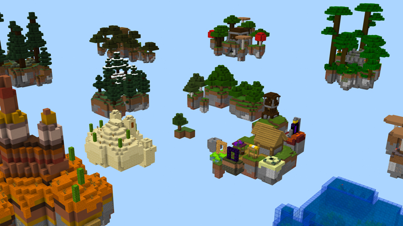 Skyblock | 5 Dimensions by SNDBX