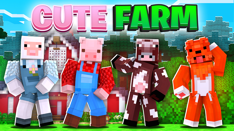 Cute Farm on the Minecraft Marketplace by The Lucky Petals