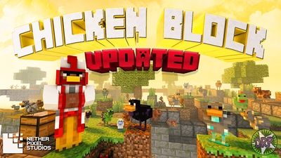 Chicken Block on the Minecraft Marketplace by Netherpixel