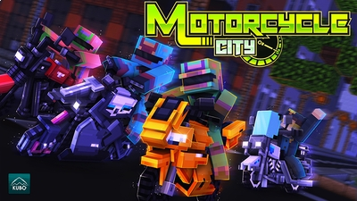 Motorcycle City on the Minecraft Marketplace by Kubo Studios