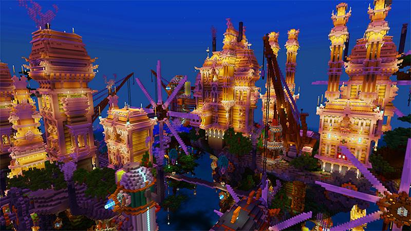 Steampunk City by Shaliquinn's Schematics