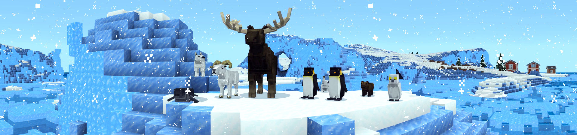 Arctic Wildlife Explorers In Minecraft Marketplace Minecraft Having ice tunnels with low ceiling was faster, still. arctic wildlife explorers in minecraft