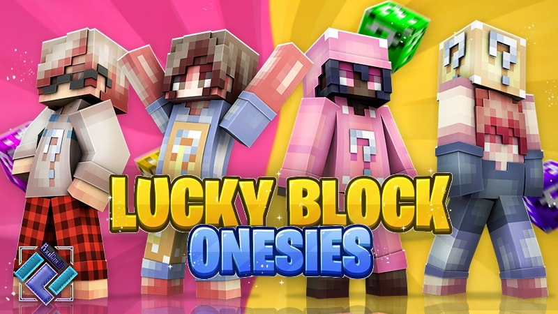 Lucky Block Onesies on the Minecraft Marketplace by PixelOneUp