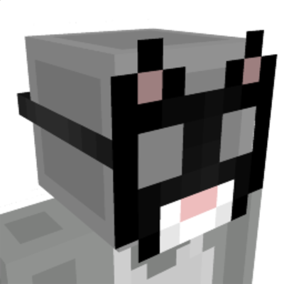 Black Cat Mask on the Minecraft Marketplace by Cynosia